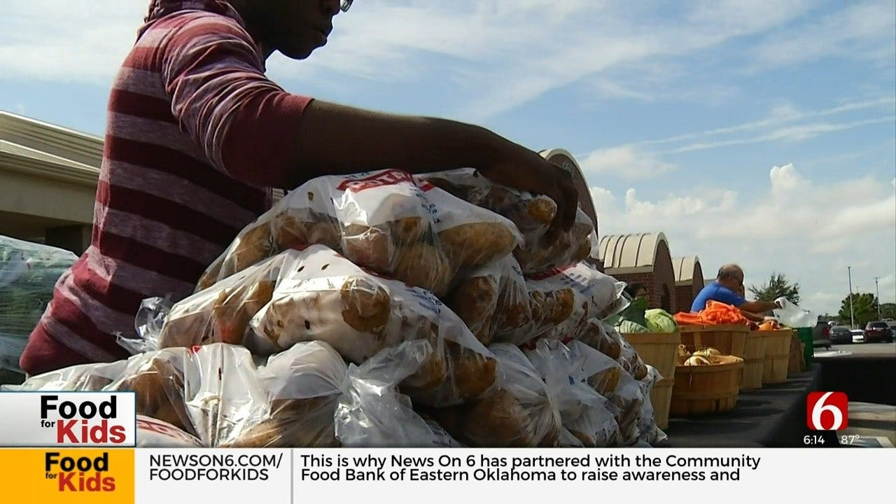 Food Bank of Eastern Oklahoma Helps Feed Green Country Kids