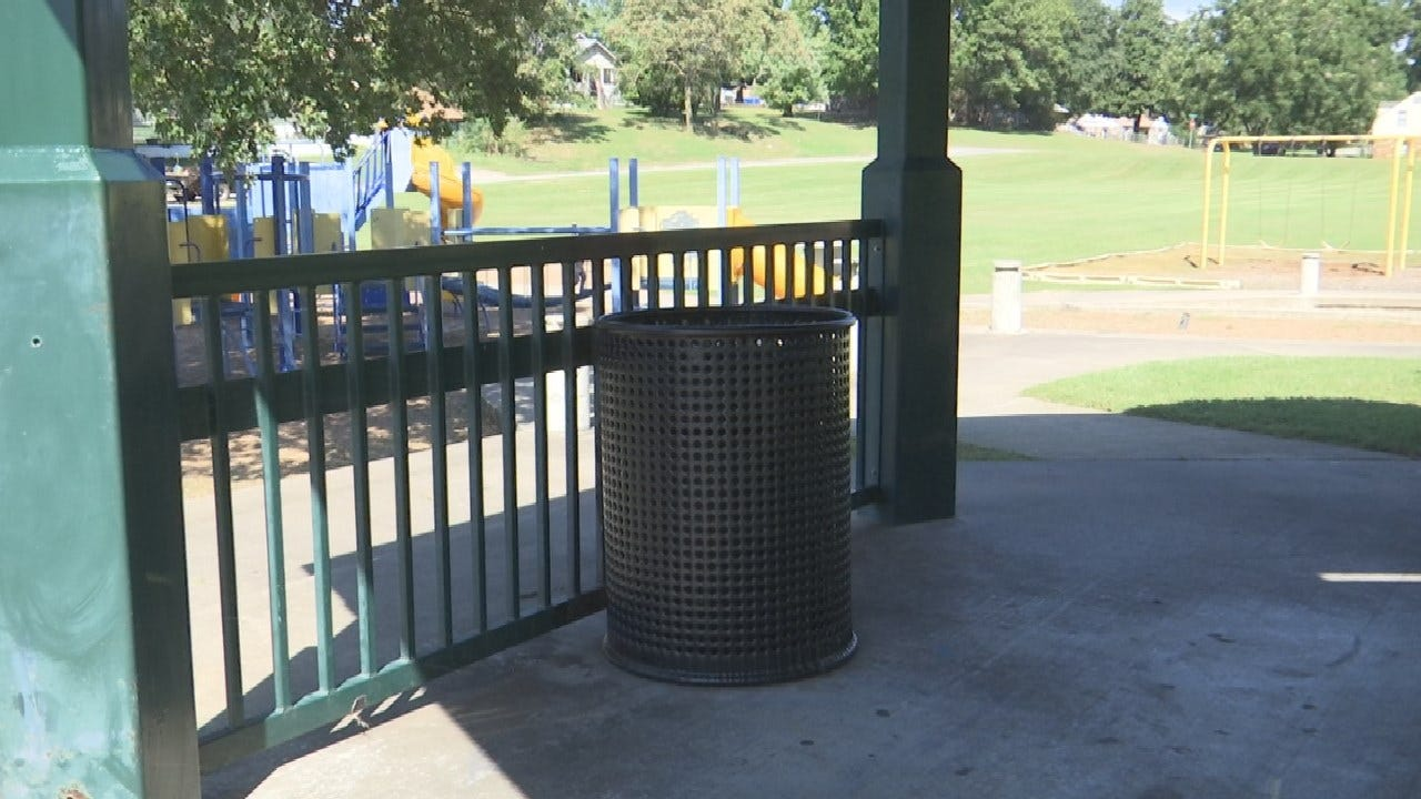 Loaded Gun Left In Page Park Trash Can In Sand Springs