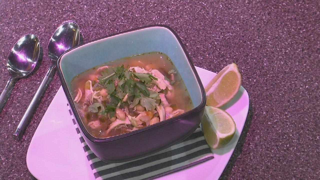 Amber & Brooks In The Kitchen: Chicken Chili Verde