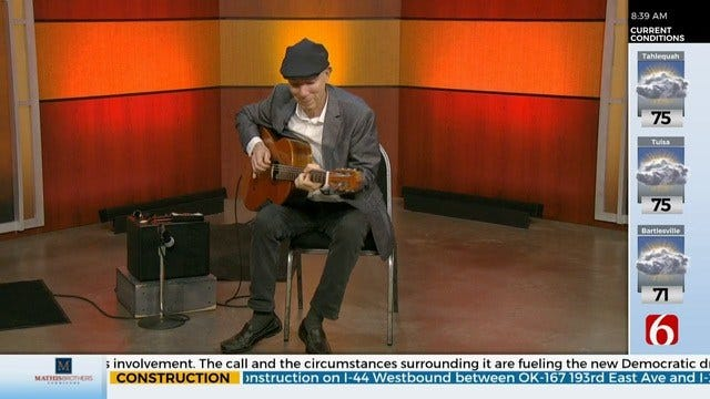 Local Guitarist Mark Bruner Stops By 6 In The Morning