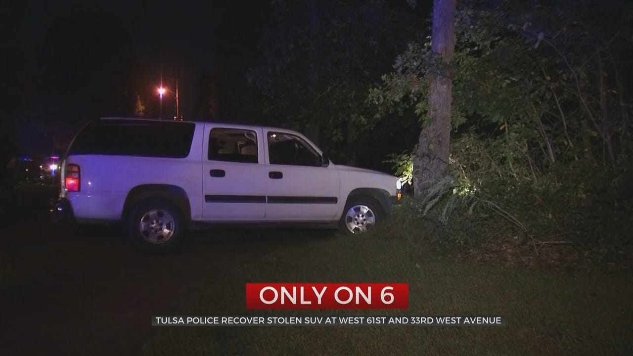 Multiple People Arrested After Tulsa Police Stop Stolen SUV