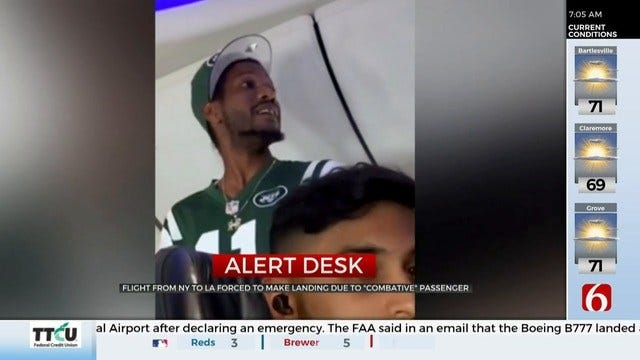Alaska Airlines Flight Makes Emergency Landing Due To Disruptive Passenger