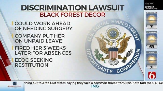 Jenks Company Facing Discrimination Lawsuit