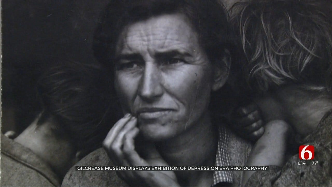Gilcrease Museum Adds Great Depression Art Exhibit