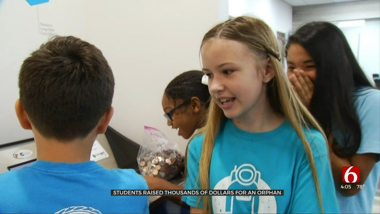 Sapulpa Students Donate To Help Orphan In El Salvador