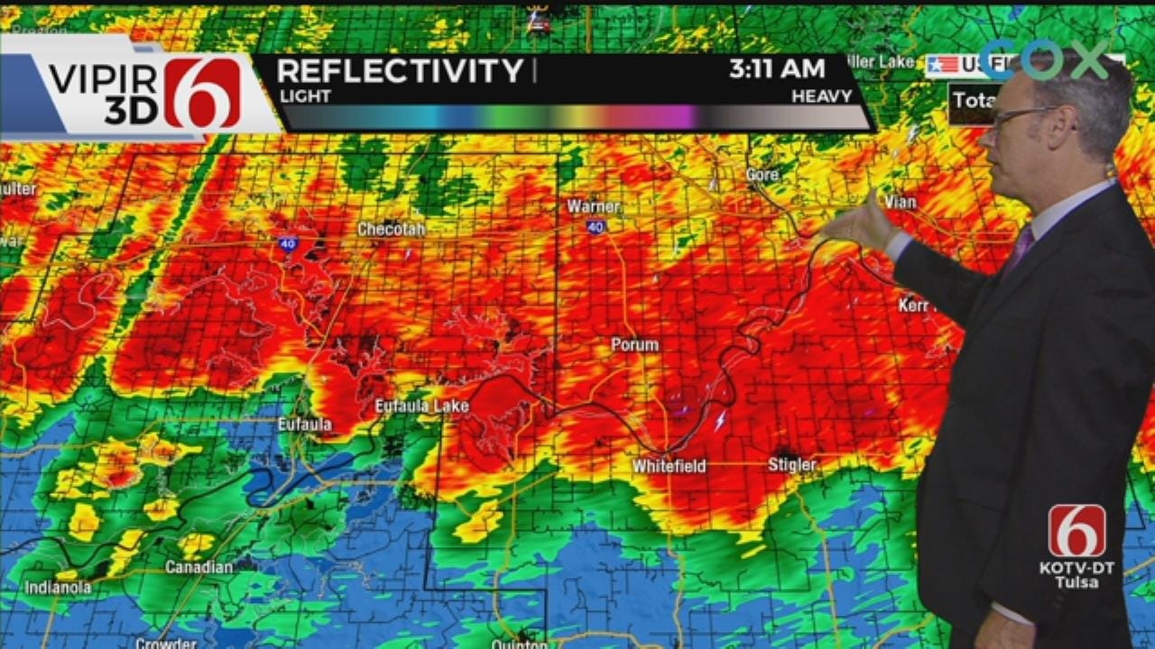 WATCH: Alan Crone Tracking Early Morning Storms