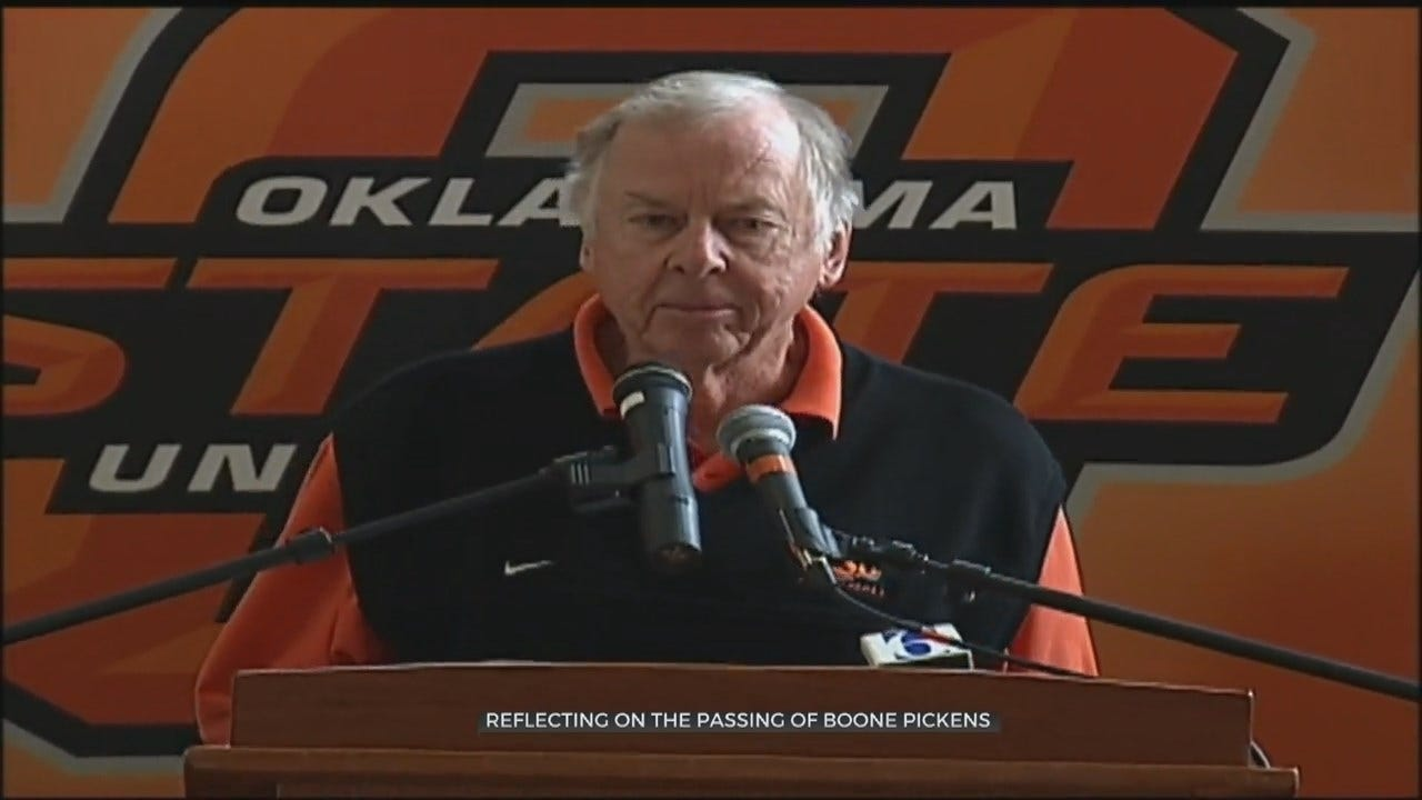 OSU Remembers Life, Legacy Of Boone Pickens