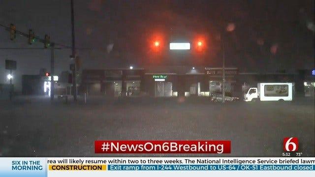 WATCH: Flash Flooding Impacts Tuesday Morning Tulsa Commute