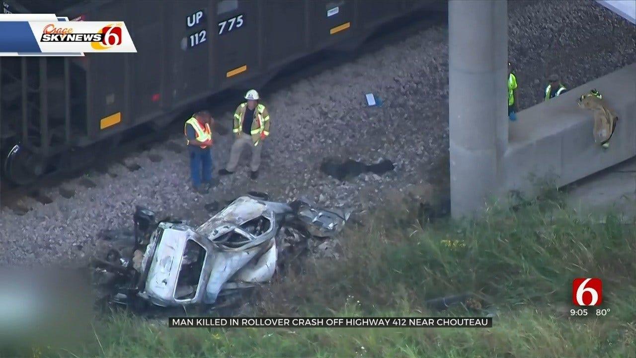 Crews Respond To Fatal Crash Near Chouteau Train Tracks