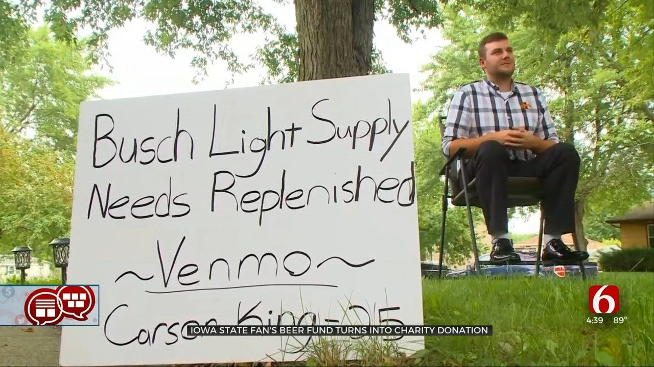 Something To Talk About: Venmo To Restock Man's Busch Light Supply