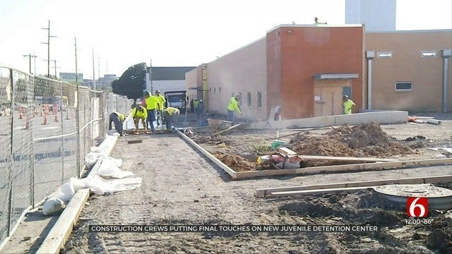 Tulsa County's New Juvenile Detention Center Almost Complete