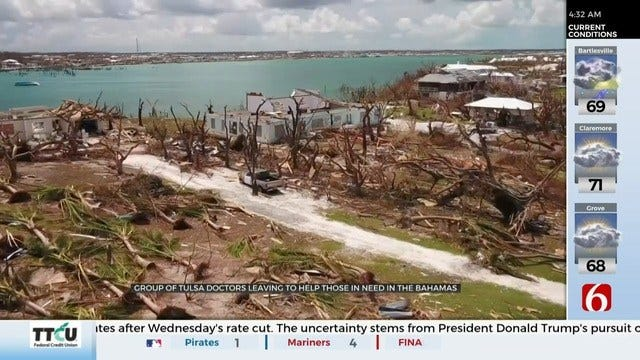Group Of Tulsa Doctors Head to The Bahamas To Help After Hurricane Dorian