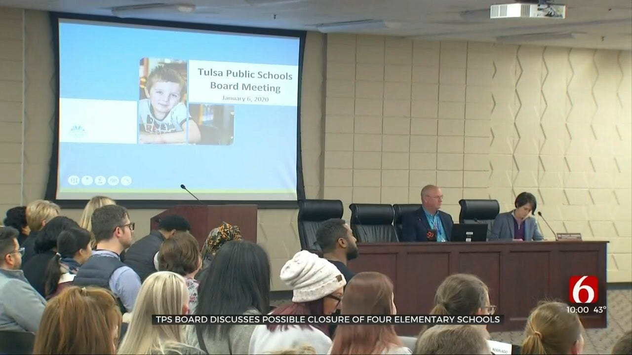 TPS Board Discusses Possible Closure Of 4 Elementary Schools