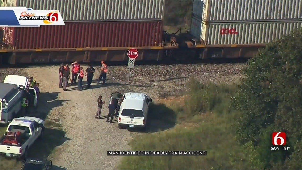Tulsa Man Hit, Killed By Train Near Mannford