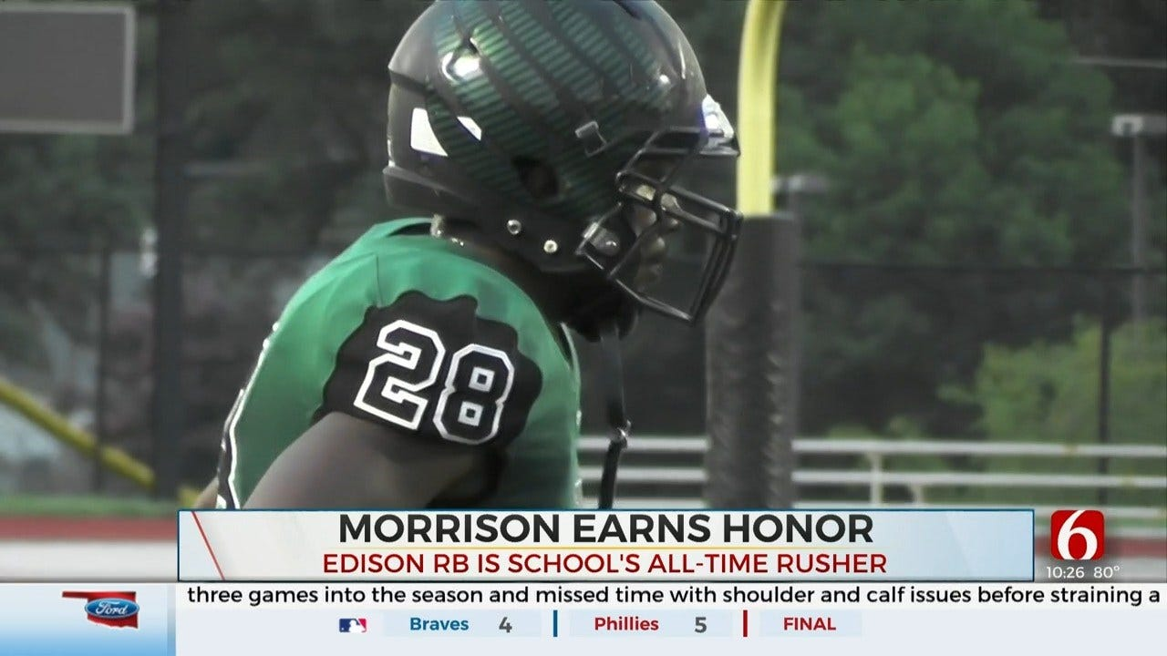 Primeaux Mitsubishi Athlete Of The Week: Sevion Morrison