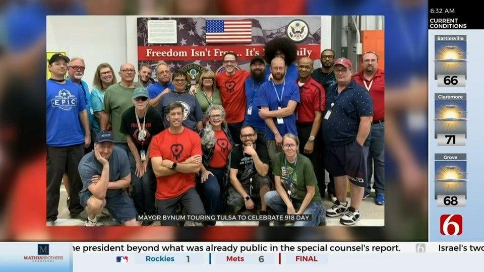 WATCH: Mayor G.T. Bynum Celebrates 918 Day
