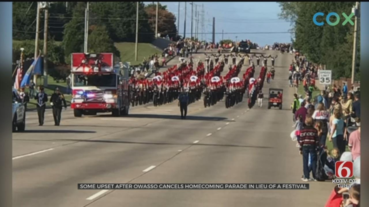 Owasso High School Abandons Homecoming Parade, Festival Takes Its Place