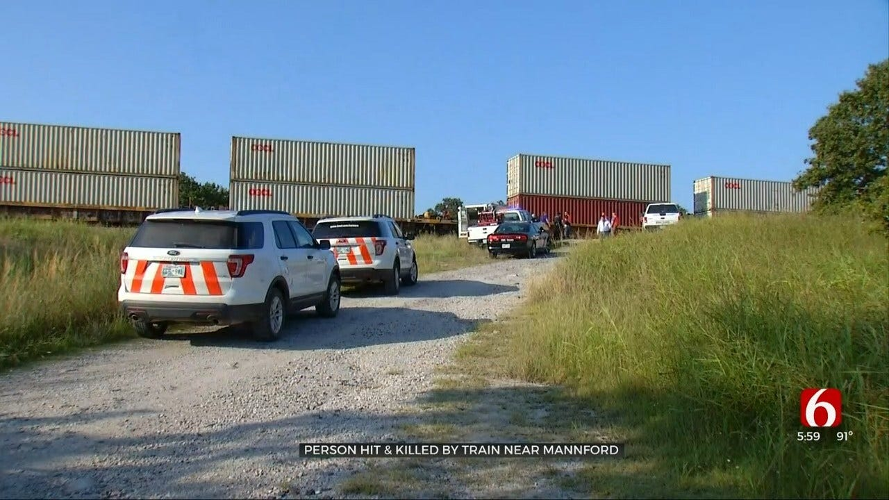 OHP Investigating Man Hit & Killed By Train Near Mannford