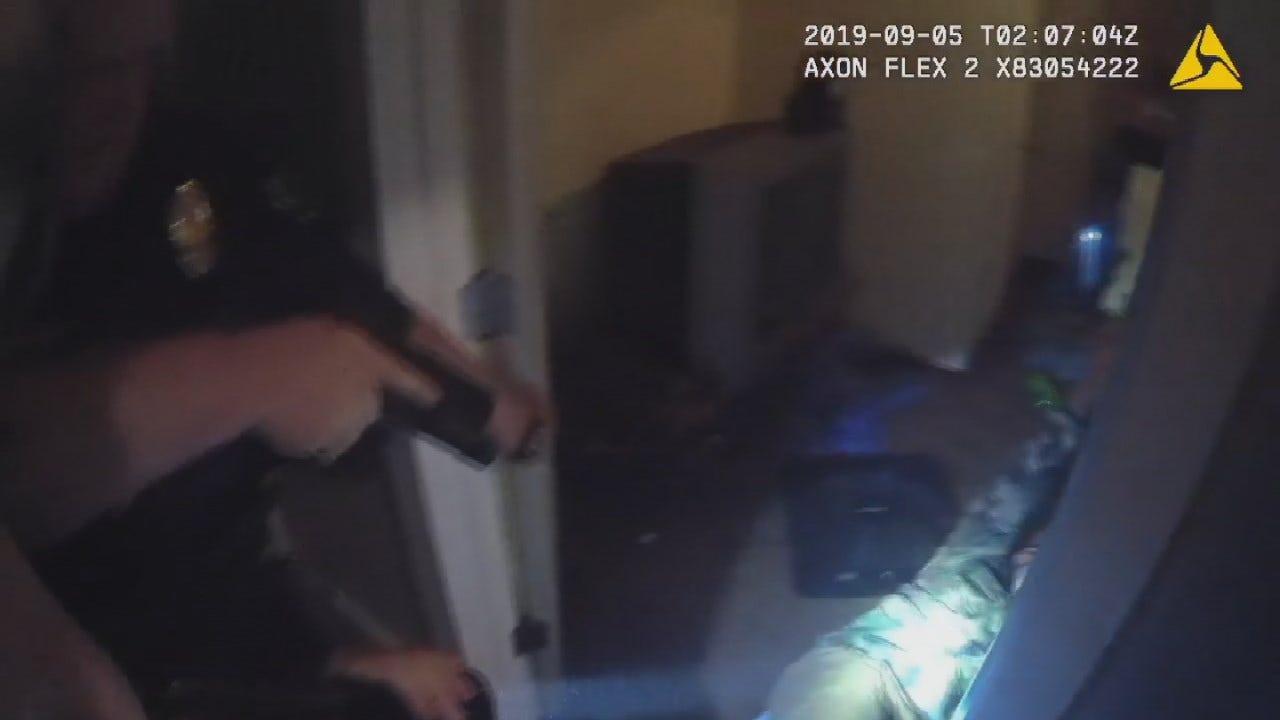 Muskogee Officer Justified In Shooting Man Holding Flaming Molotov Cocktail, District Attorney Says