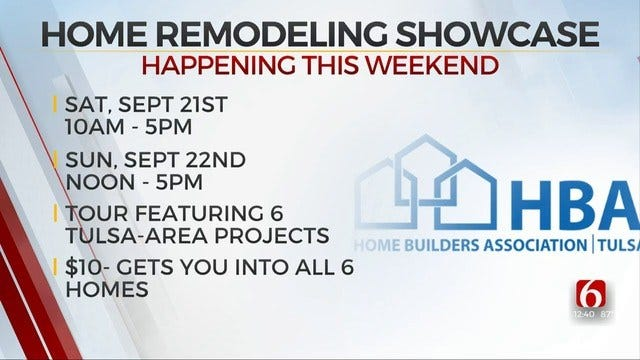 19th Annual Home Remodeling Showcase Happening This Weekend