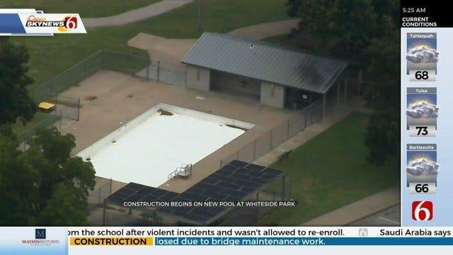 Construction Starts On New Tulsa Pool