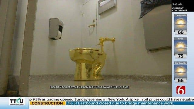 $1.25 Million Toilet Stolen From Winston Churchill's Birthplace