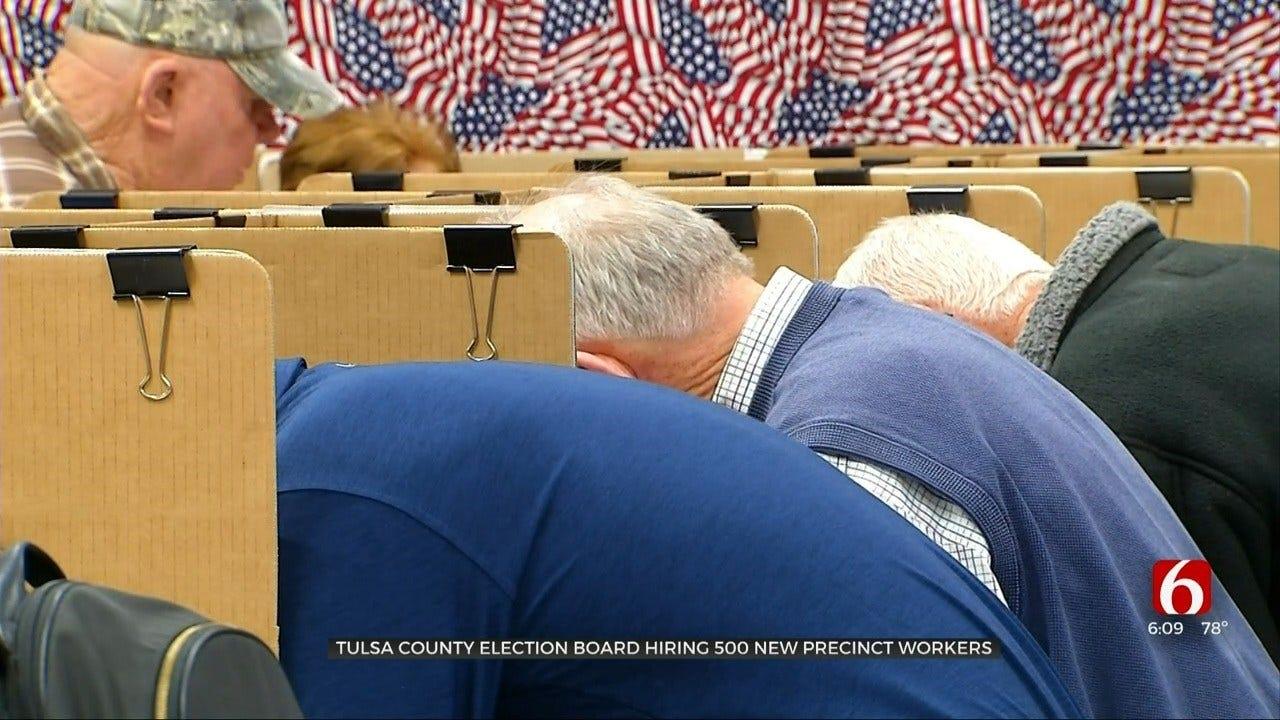 Tulsa County Election Board Hiring 500 New Precinct Workers