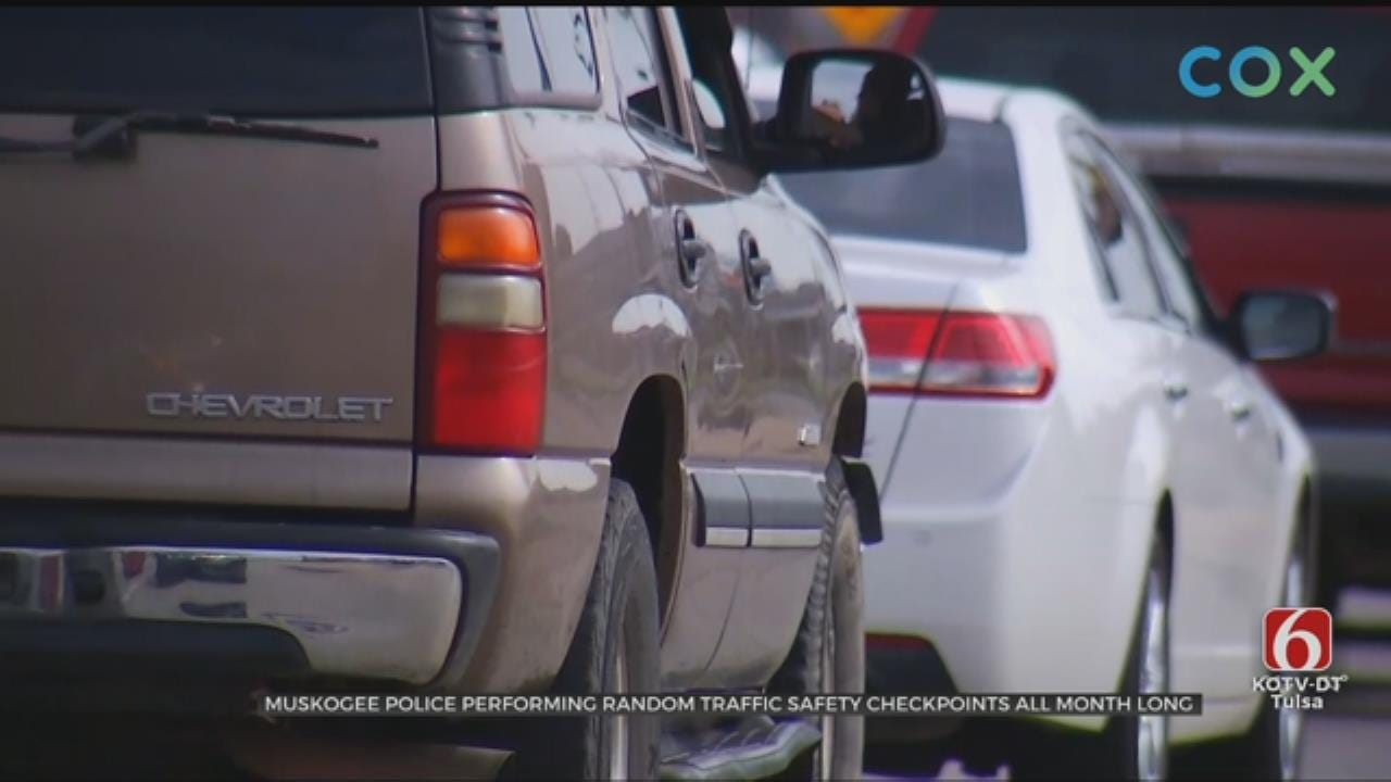 Muskogee Police Make Checkpoints Due To The City Having High Vehicle Accident Rates