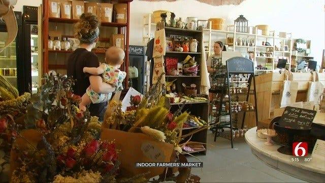 Collinsville Farm Hippie Market Open All Year - Indoors