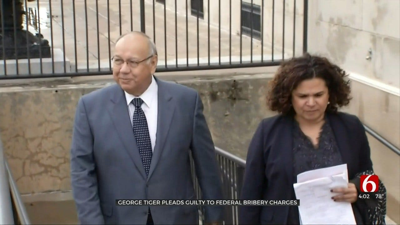 Former Principal Chief George Tiger Pleads Guilty To Bribery