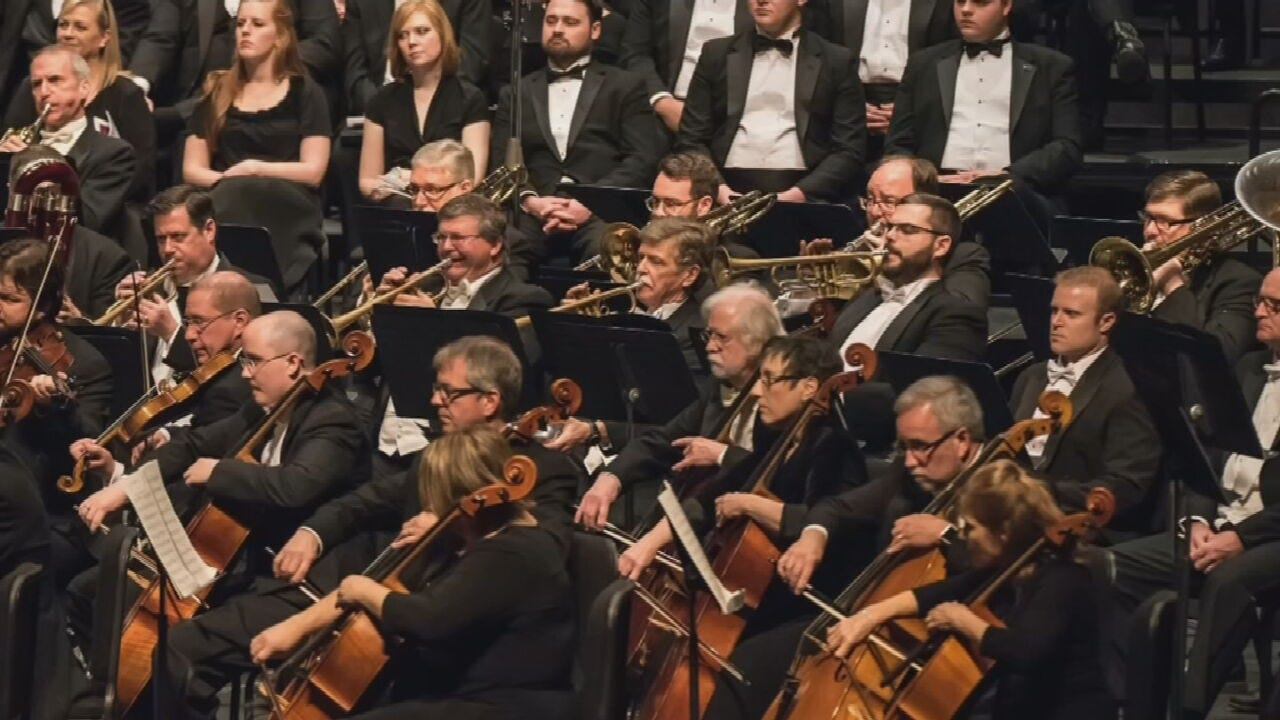 The Tulsa Symphony Orchestra Prepares For Opening Night Gala