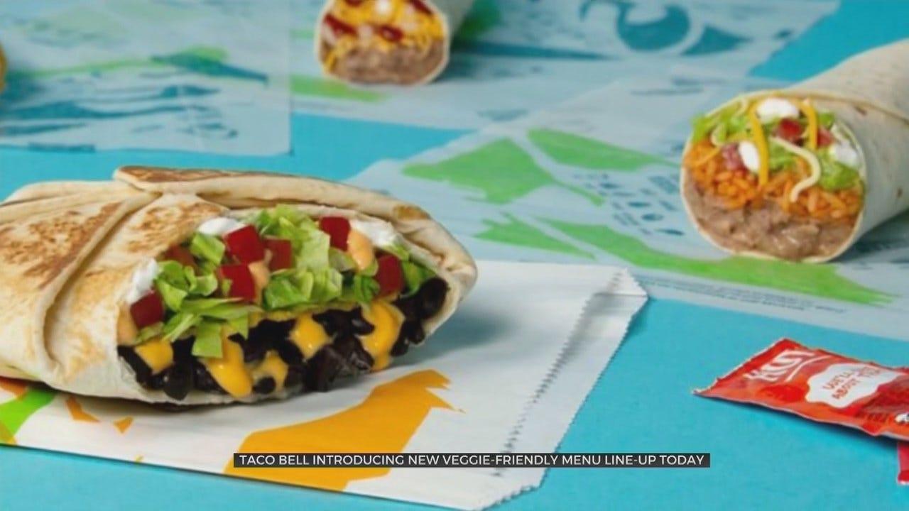 Taco Bell Launches Veggie-Friendly Menu