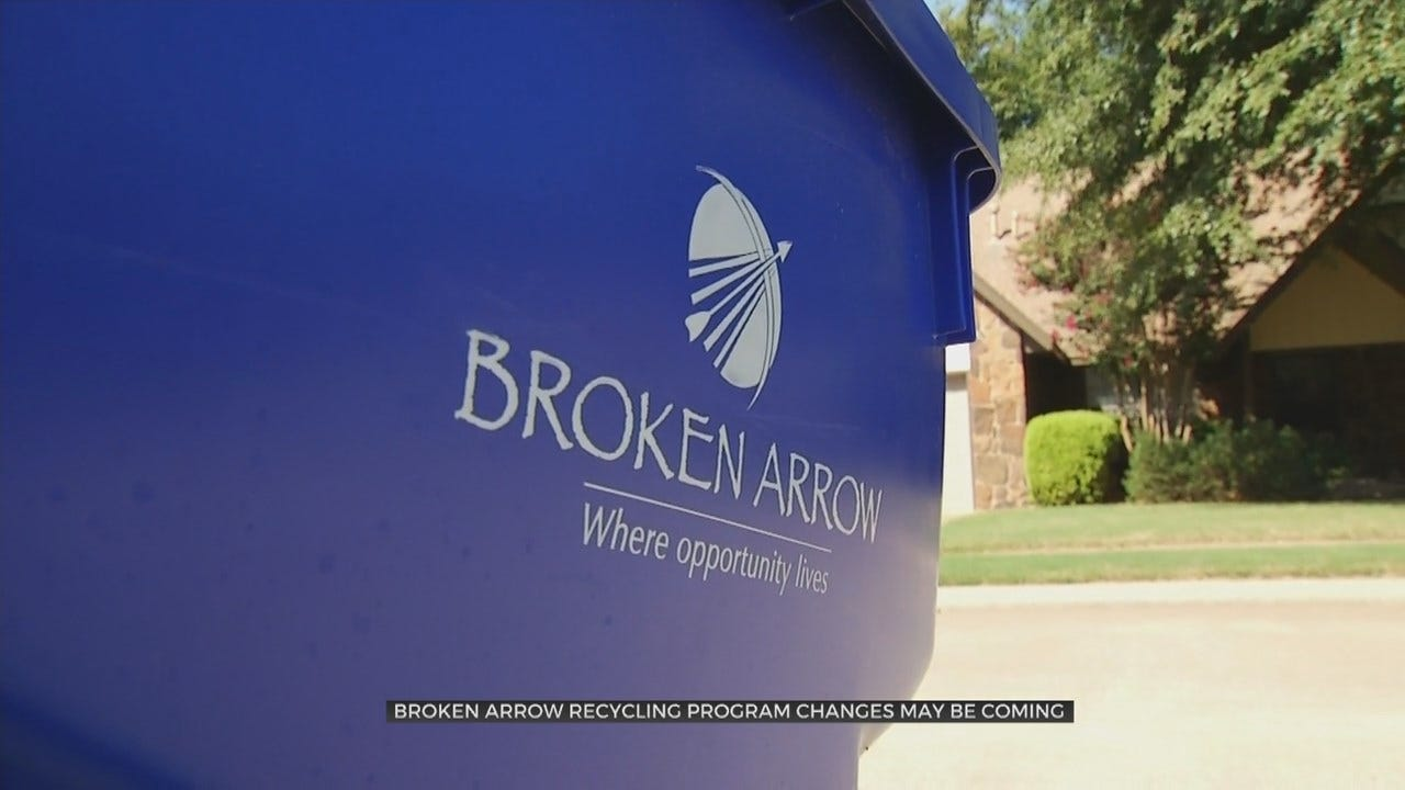 Broken Arrow Recycling Committee To Recommend Use Of Recycling Carts