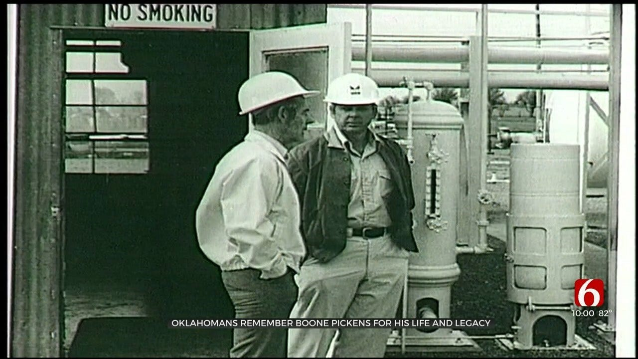 Oklahomans Remember The Ethics Of Boone Pickens