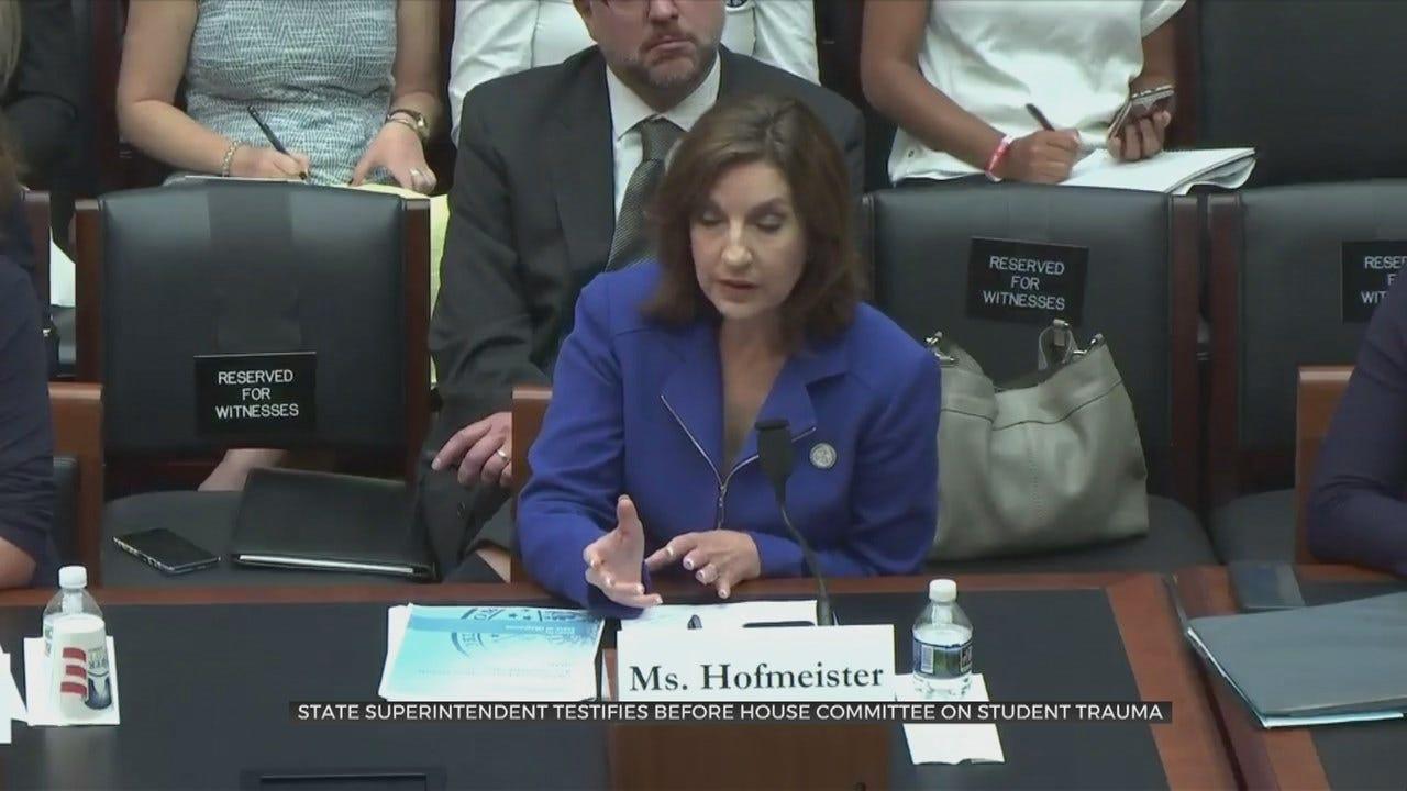 Superintendent Hofmeister Speaks Before Congress About Gun Violence, Trauma In Schools