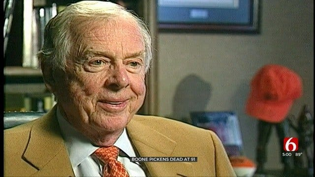 WATCH: Terry Hood Interviews Boone Pickens In 2005