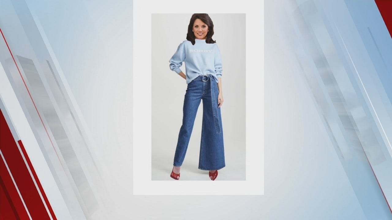 WATCH: News On 6's LeAnne Taylor Tries Out Skinny Wide Jeans