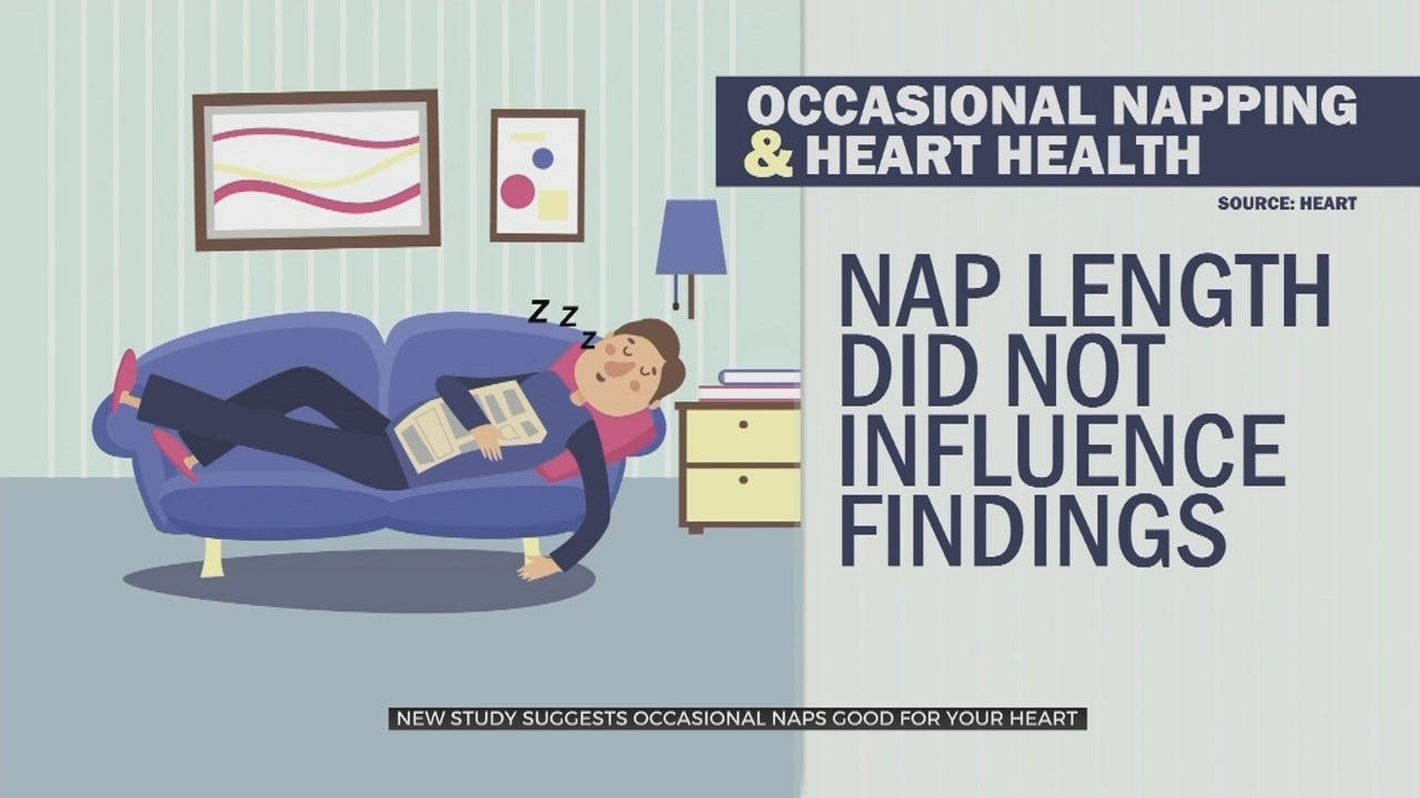 WATCH: New Study Shows Naps Are Good For Your Health
