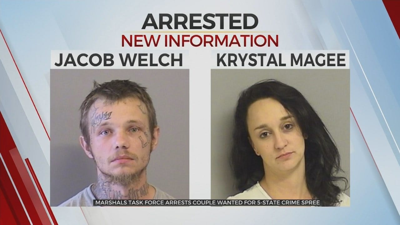 Self-Proclaimed 'Modern Day Bonnie & Clyde' Arrested In Tulsa
