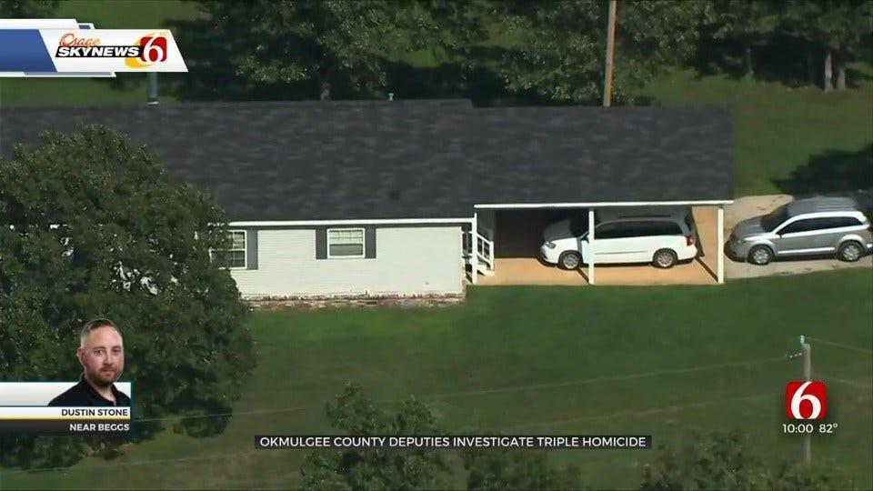 Beggs Triple Homicide Victims Identified