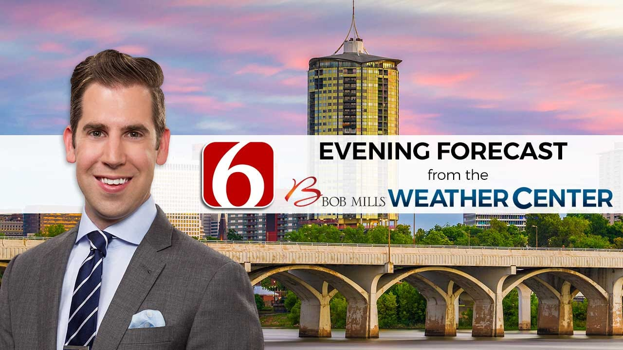 Saturday Evening Forecast With Mike Grogan