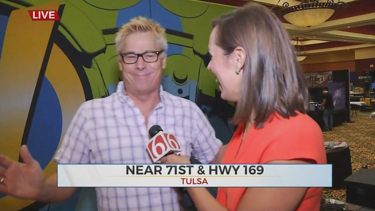 WATCH: News On 6's Tess Maune Talks With Kato Kaelin