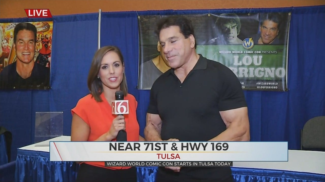 WATCH: Lou Ferrigno Talks With News On 6's Tess Maune