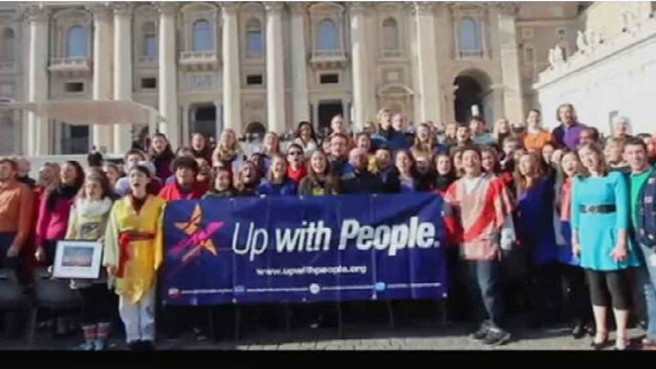 'Up With People' Performs Message Of Hope Saturday In Broken Arrow