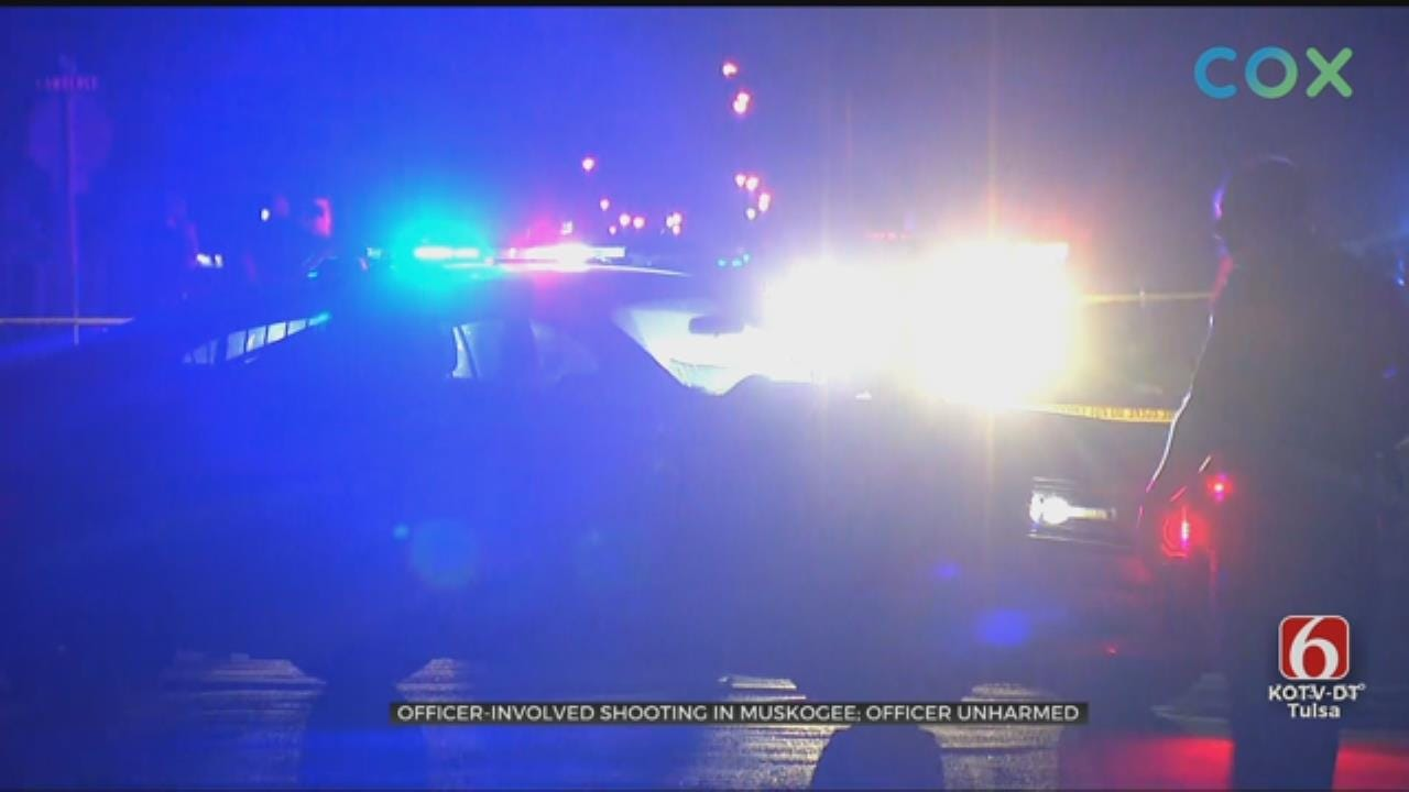 Muskogee Police Report Officer-Involved Shooting