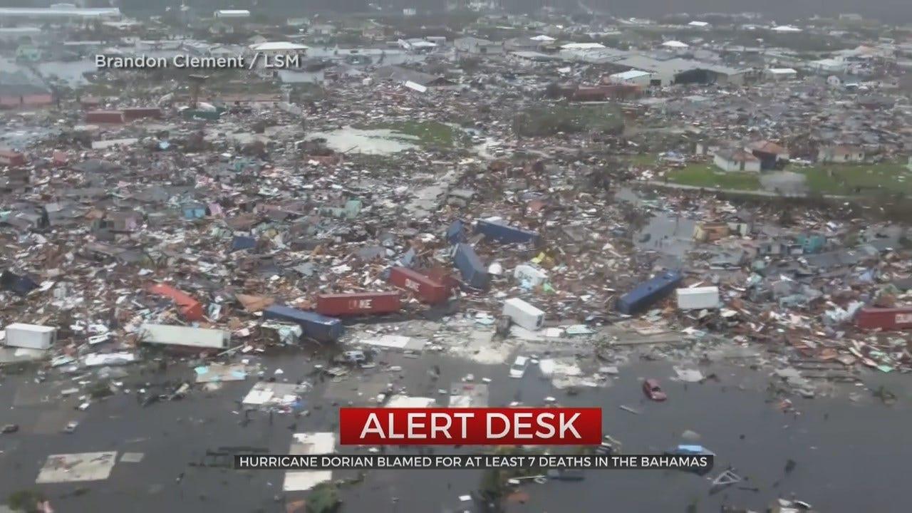 Hurricane Dorian Causes Destruction In The Bahamas