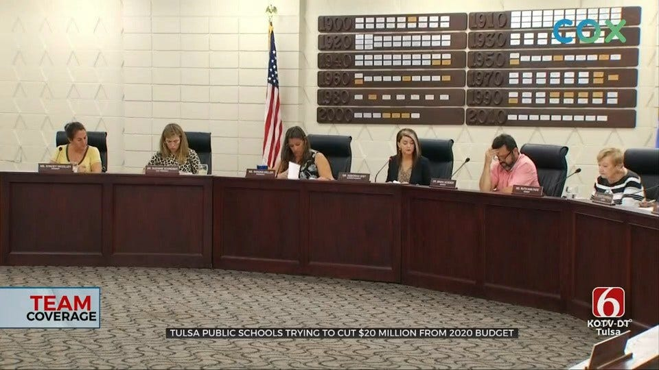 Tulsa Public Schools Working To Cut $20 Million From 2020 Budget