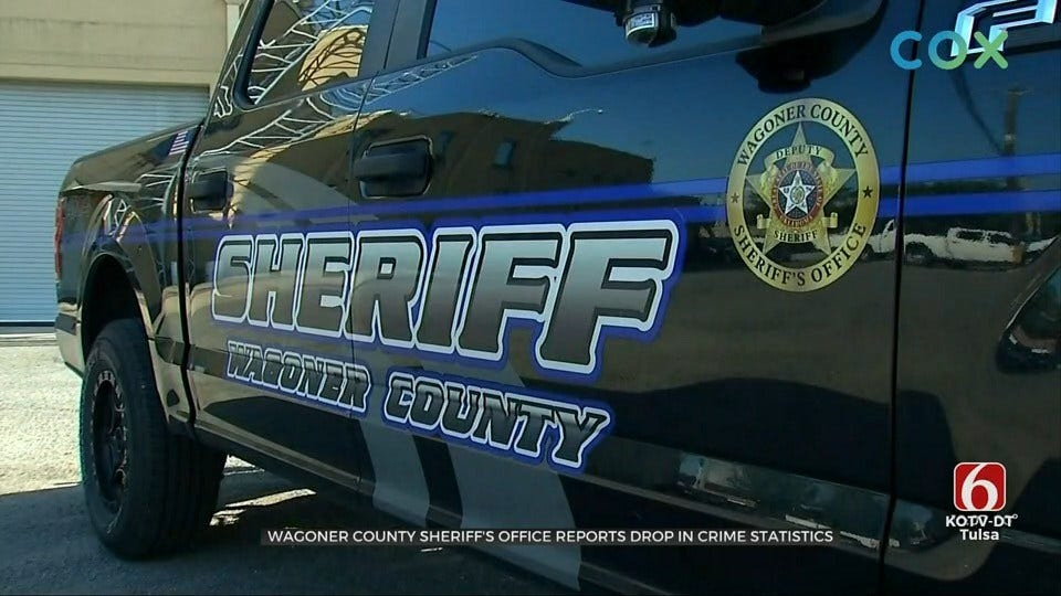 Wagoner County Sheriff's Office Reports Drop In Crime Statistics