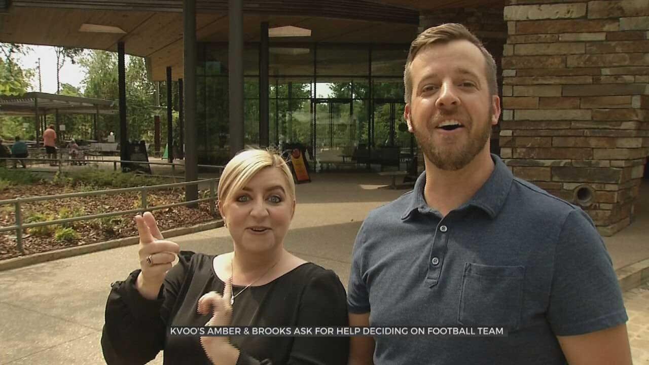 Amber & Brooks Become OU, OSU Fans