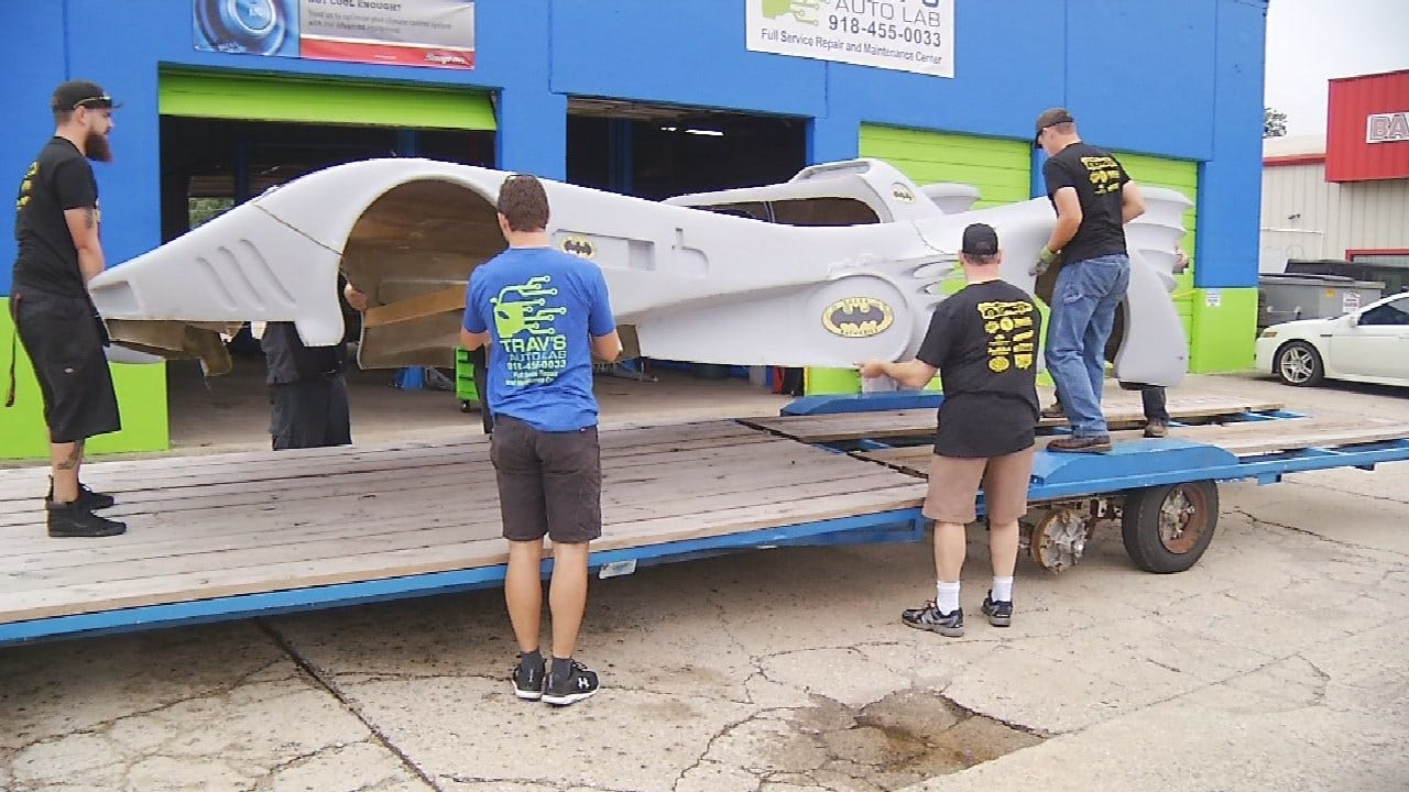 Batmobile Built By Tulsa Community Members Is Almost Ready